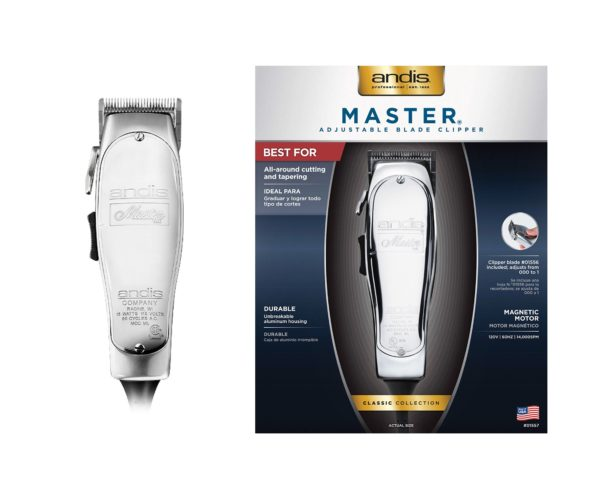 ANDIS MASTER ADJUSTABLE BLADE CLIPPER2