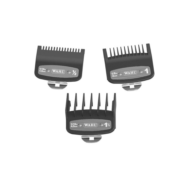 Wahl Premium Attachment Combs 3 Pack guards