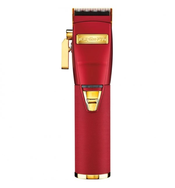 babyliss pro metal lithium clipper red