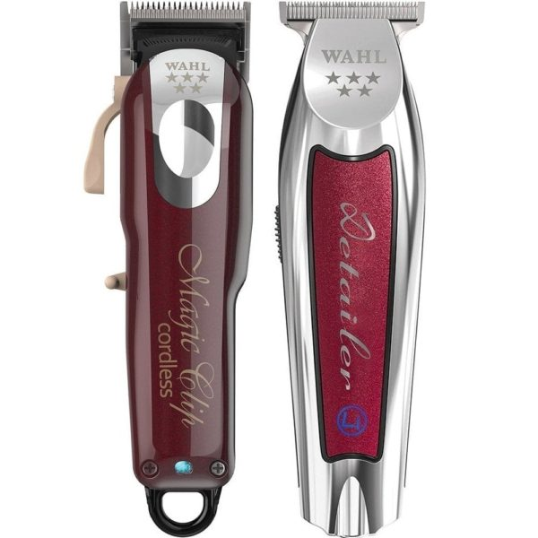 wahl cordless magic clip clipper cordless detailer li trimmer duo p16039 29707 image