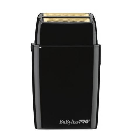 babyliss pro fxfs2b cordless metal double foil shaver black
