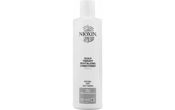 1195881 nioxin 3d care system system 1 step 2 scalp therapy revitalizing conditioner for natural hair and light thinning 300mlAA